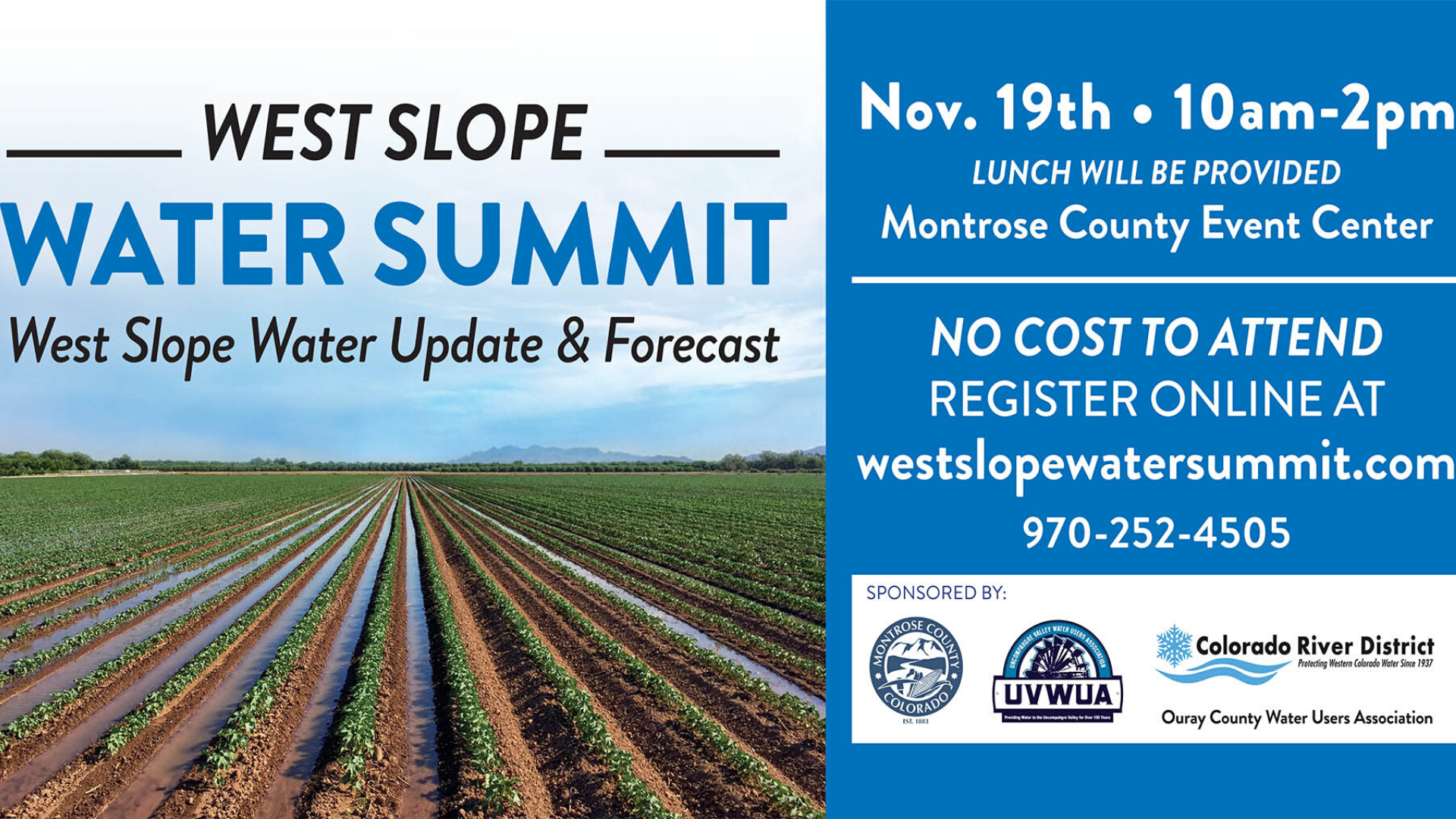 West Slope Water Summit
