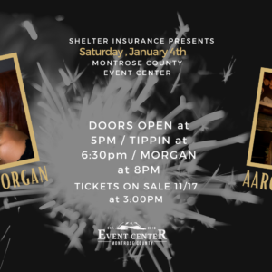 Lorrie Morgan & Aaron Tippon at the Montrose County Event Center