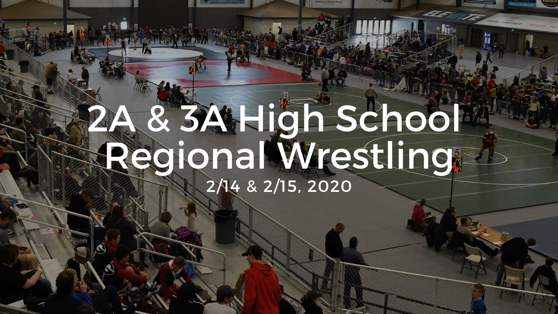 2020 High School Regional Wrestling