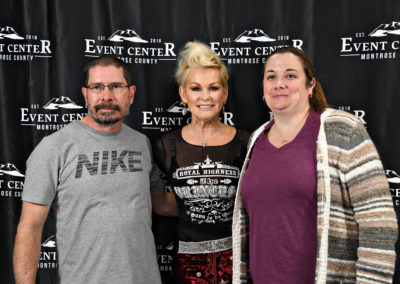 Lorrie Morgan and Aaron Tippin at Montrose County Event Center